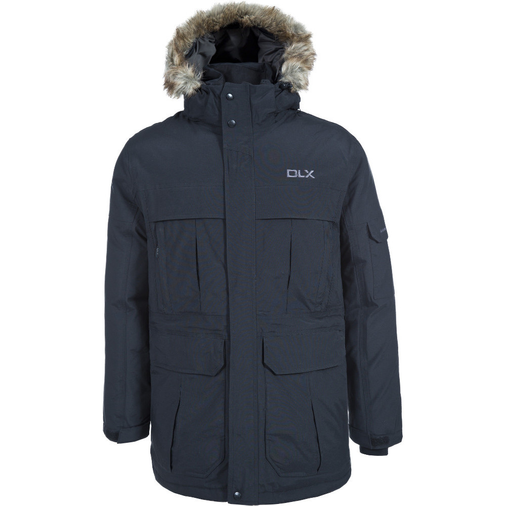 Trespass Mens Highland Dlx Waterproof Breathable Natural Down Jacket L - Chest 41-43 (104-109cm)