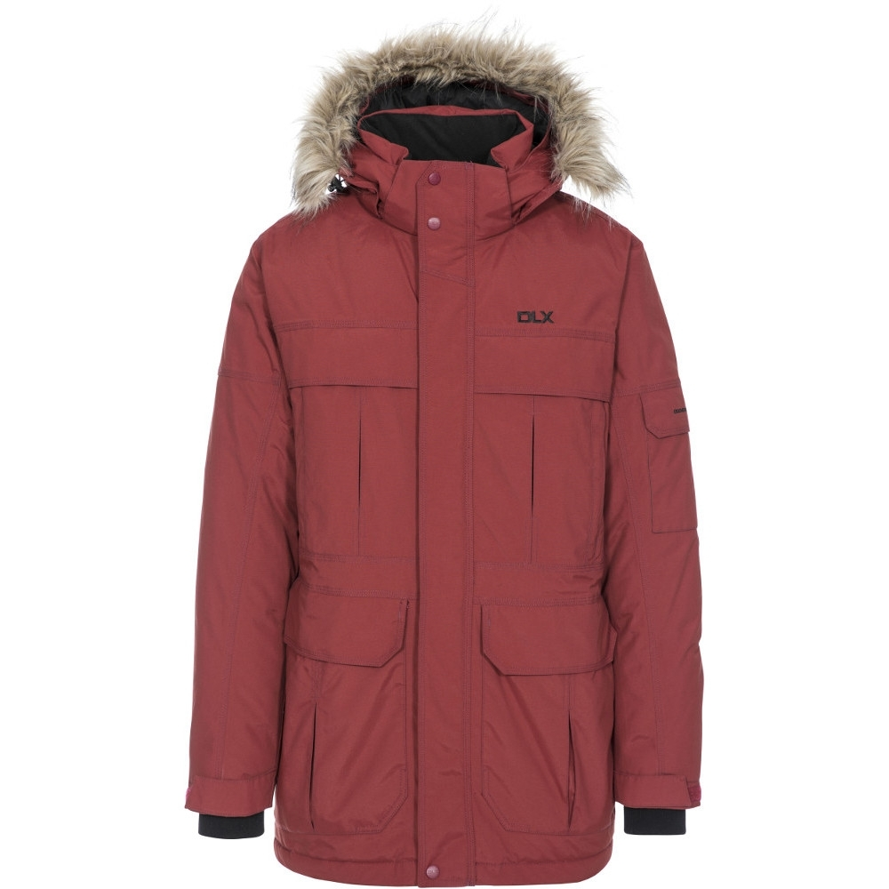 Trespass Mens Highland Dlx Waterproof Breathable Natural Down Jacket L- Chest 41-43 (104-109cm)