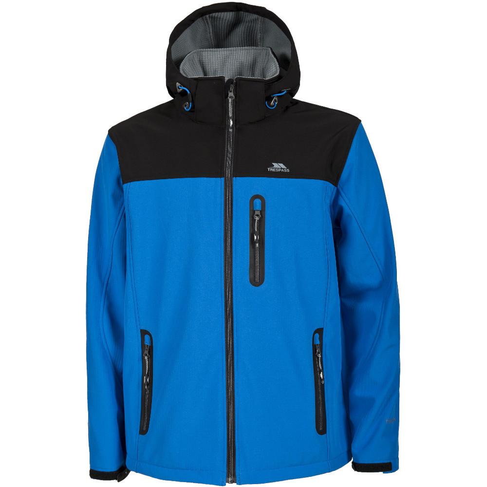 Trespass Mens Hebron Waterproof Breathable Softshell Jacket M - Chest 38-40 (96.5-101.5cm)