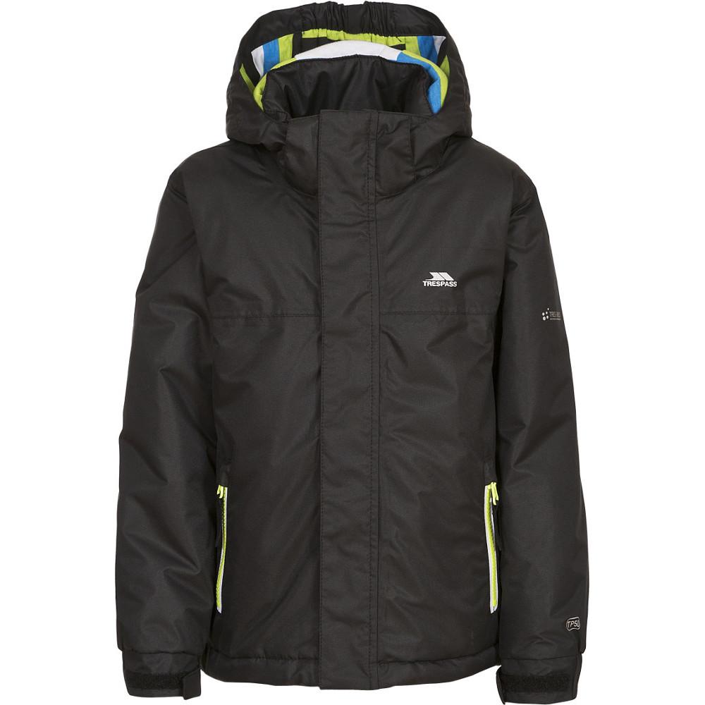 Trespass Boys Clark Waterproof Padded Rain Coat Jacket 5-6