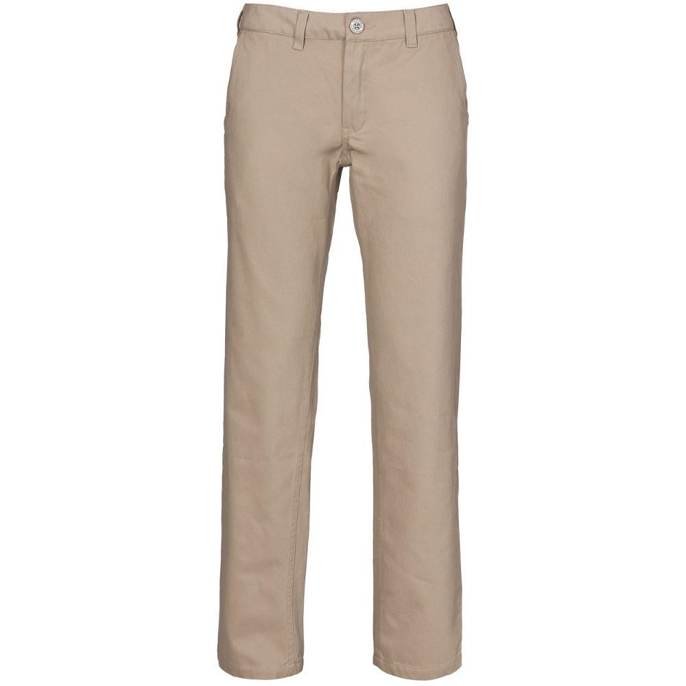 Trespass Womens/ladies Makena Cotton Casual Walking Trousers 14/l - Waist 32 (81cm)  Inside Leg 30.5
