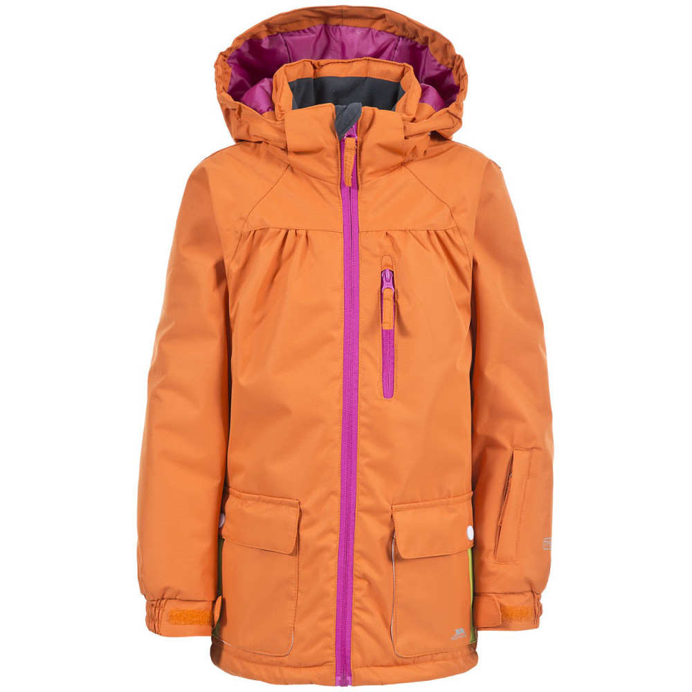 Trespass Girls Daphne Waterproof Warm Padded Ski Jacket 7-8