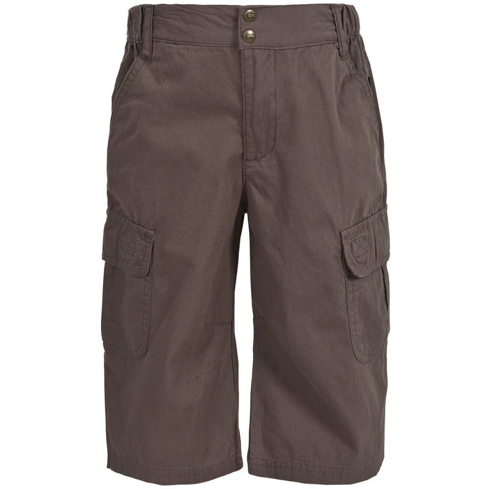 Trespass Boys Flynn Three Quarter Length Walking Shorts 3-4 Years - Waist 21 (53cm)  Inside Leg 18