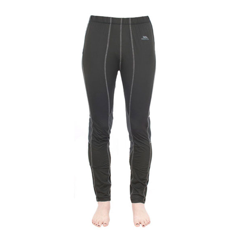 Product image of Trespass Ladies Redeem Thermal Baselayer Pant Trousers Black