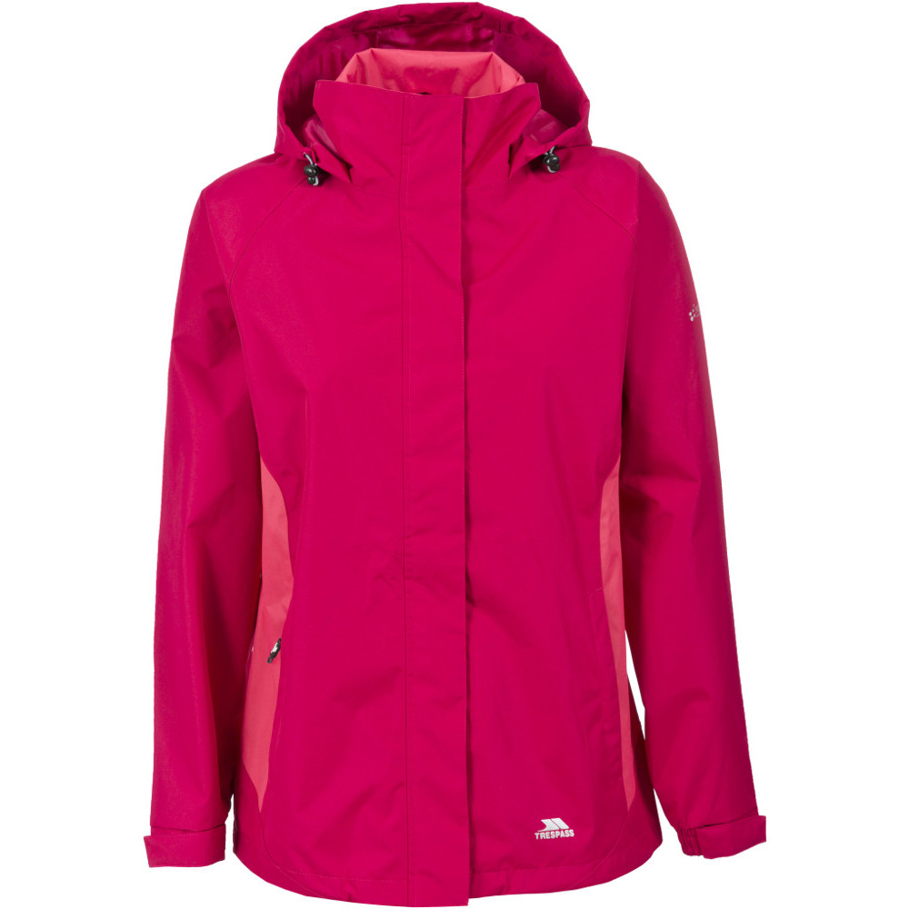 Trespass Womens/ladies Tarron Ii Waterproof Lightweight Shell Jacket 8/xs - Bust 32 (81cm)