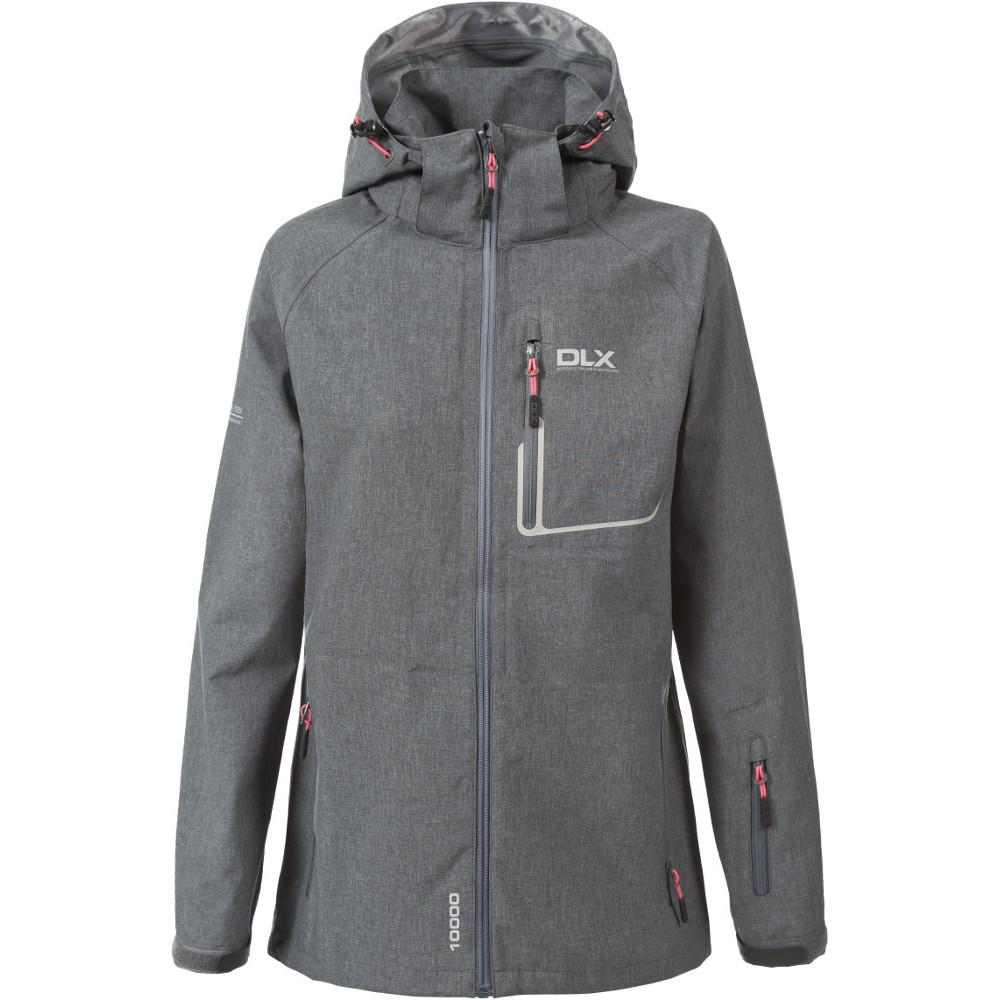 Trespass Womens/Ladies Gita Waterproof Breathable DLX Jacket 10/S - Bust 34 (86cm)