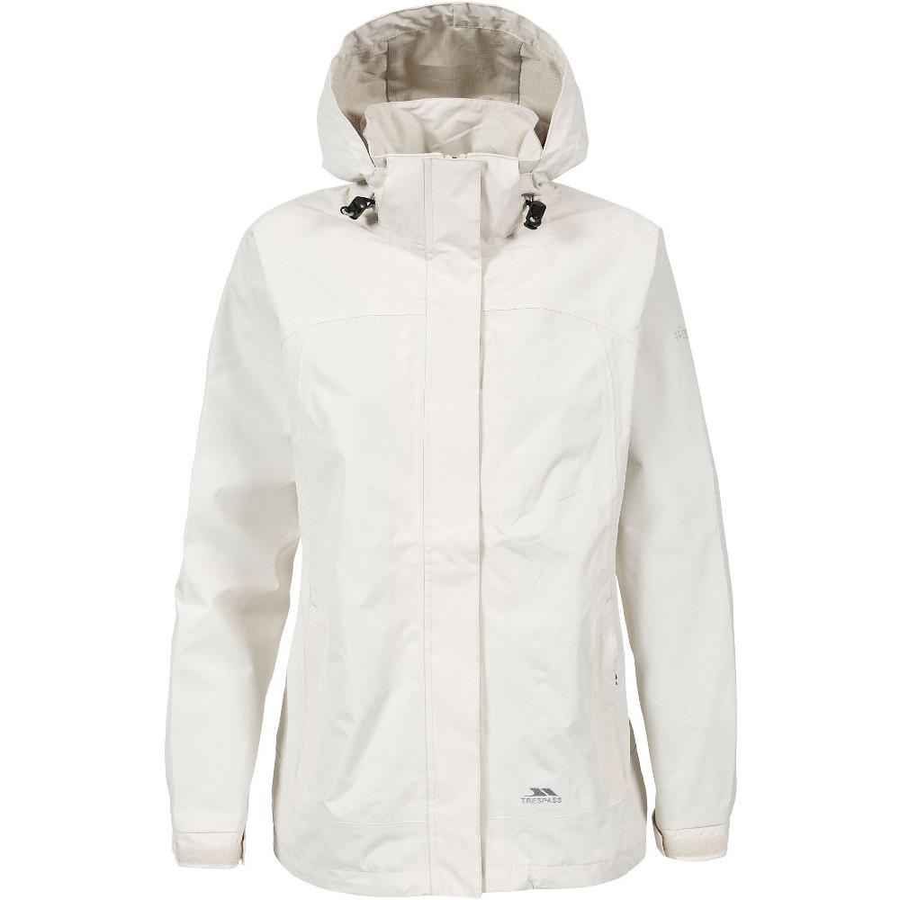 Trespass Womens/ladies Nasu Ii Waterproof Mesh Lined Shell Jacket 16/xl - Bust 40 (101.5cm)