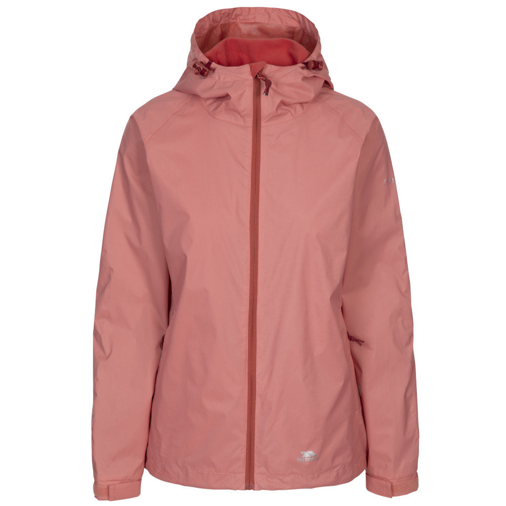 Trespass Womens/ladies Tayah Ii Waterproof Breathable Shell Jacket 12/m - Bust 36 (91.4cm)
