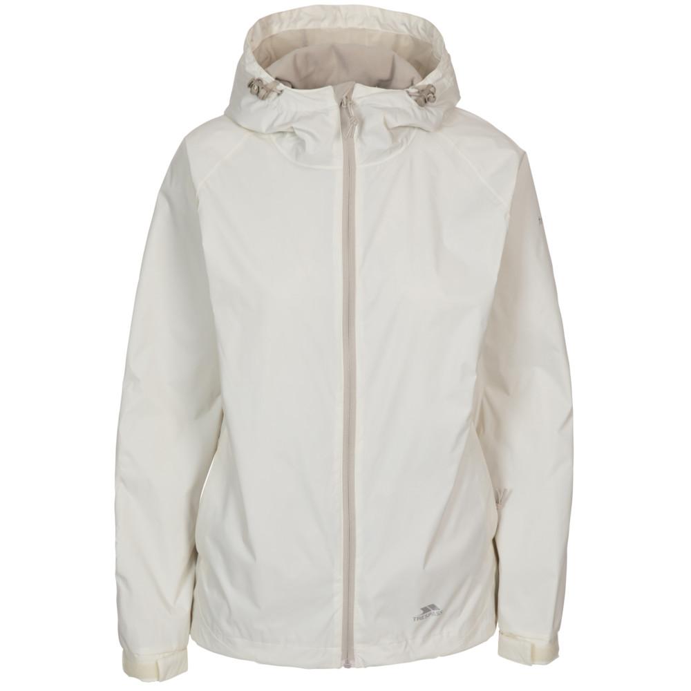 Trespass Womens/ladies Tayah Ii Waterproof Breathable Shell Jacket 14/l - Bust 38 (96.5cm)