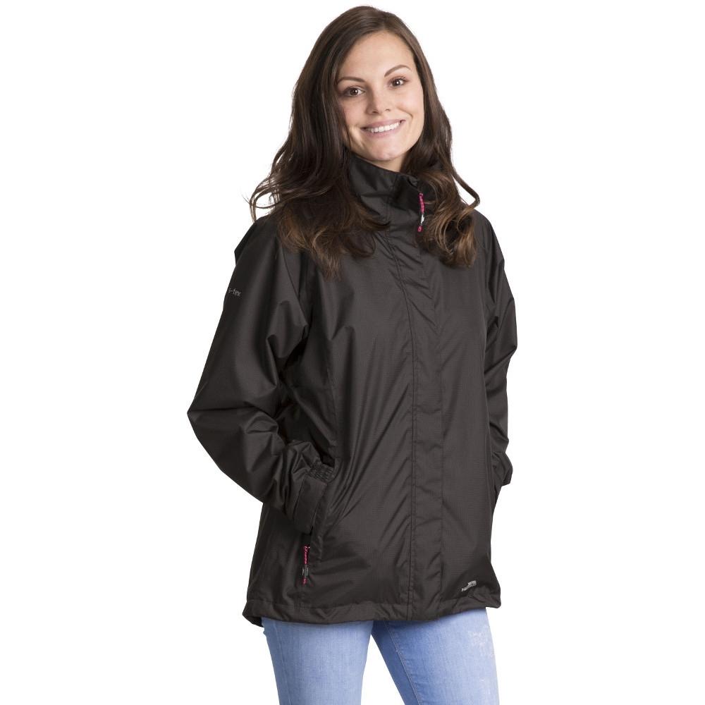 Trespass Womens/ladies Lanna Ii Waterproof Breathable Shell Jacket 6/xxs - Bust 30 (76cm)
