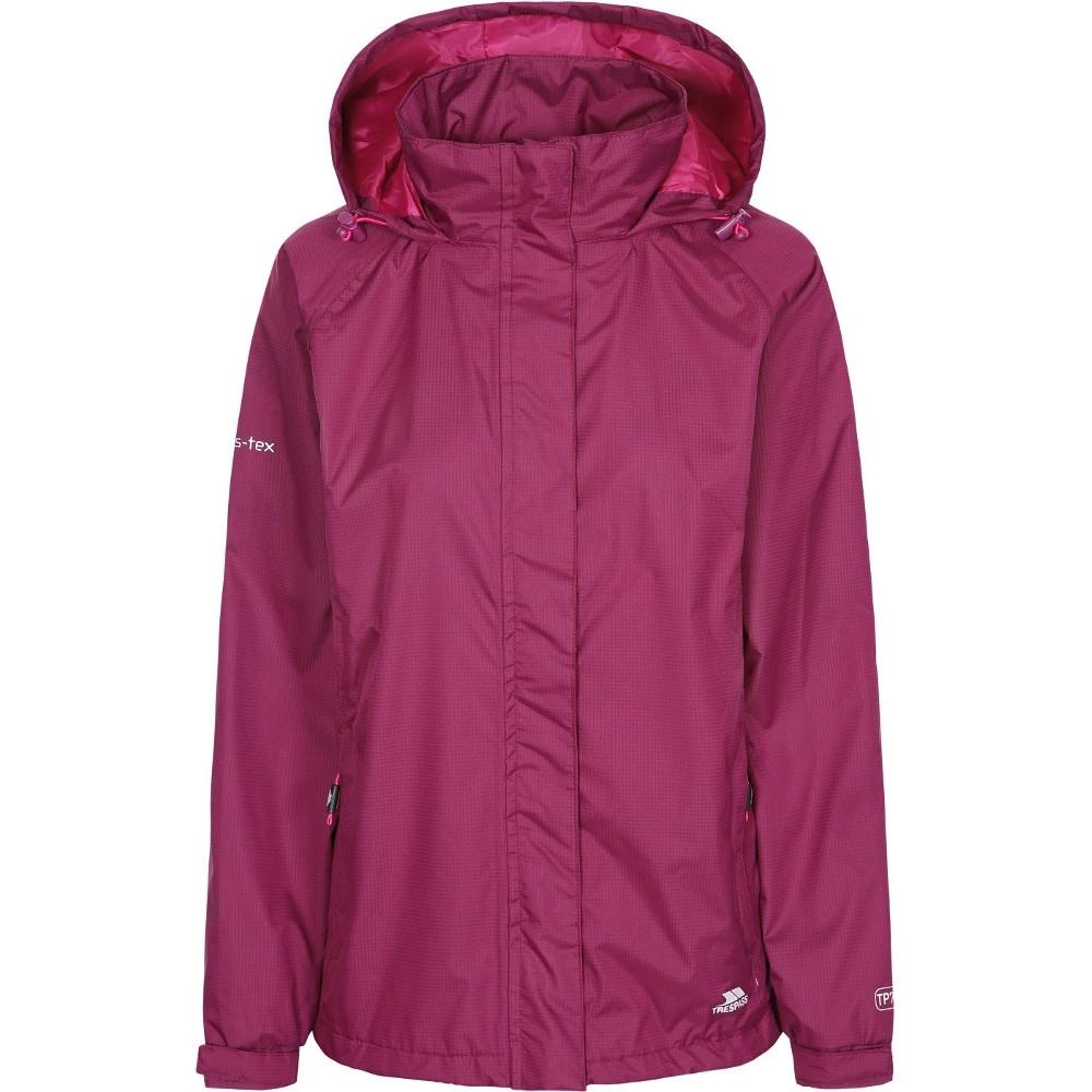 Trespass Womens/ladies Lanna Ii Waterproof Breathable Shell Jacket 12/m - Bust 36 (91.4cm)