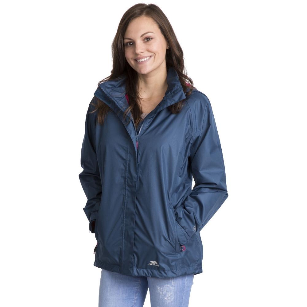 Trespass Womens/ladies Lanna Ii Waterproof Breathable Shell Jacket 20/3xl - Bust 44 (111.8cm)
