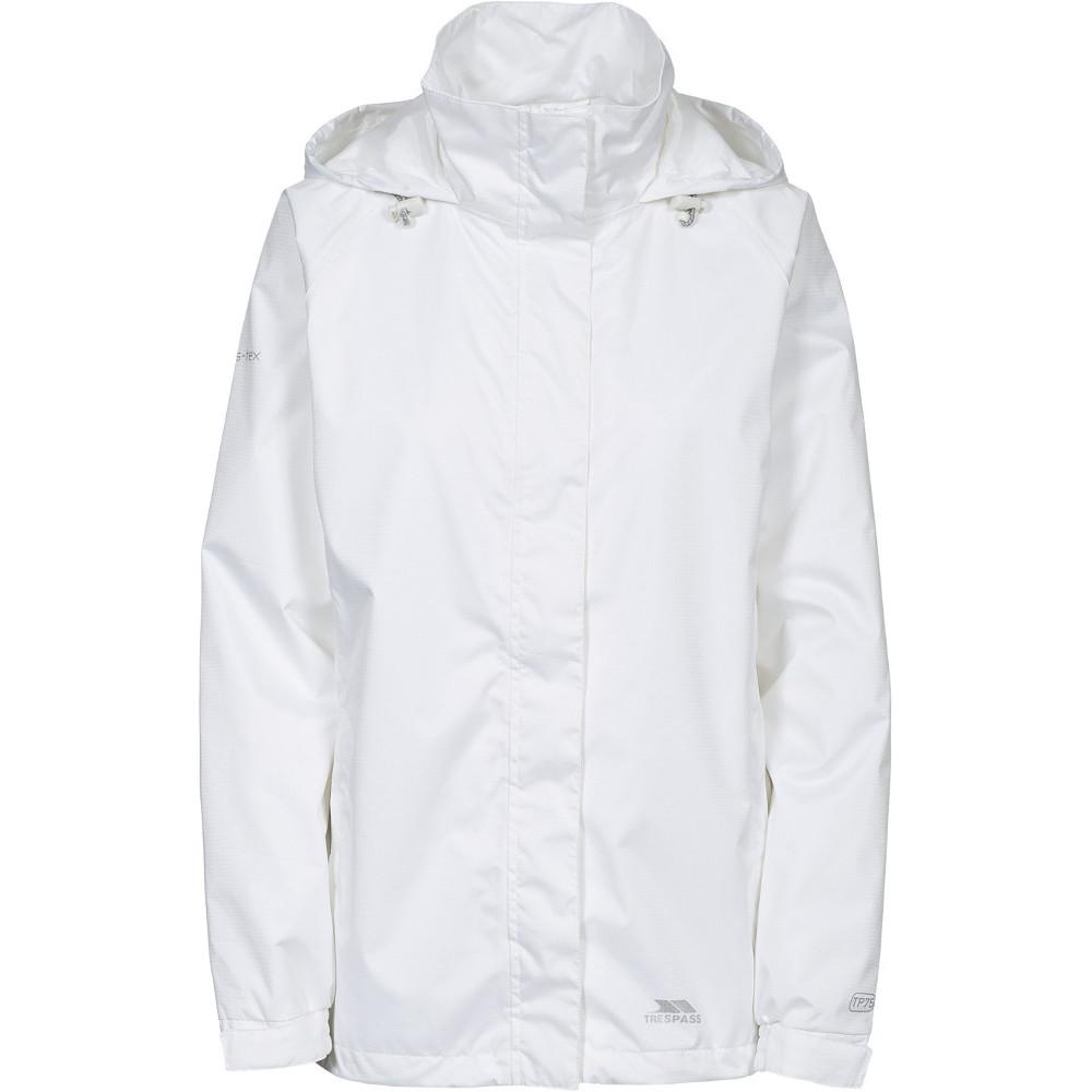 Trespass Womens/ladies Lanna Ii Waterproof Breathable Shell Jacket 8/xs - Bust 32 (81cm)