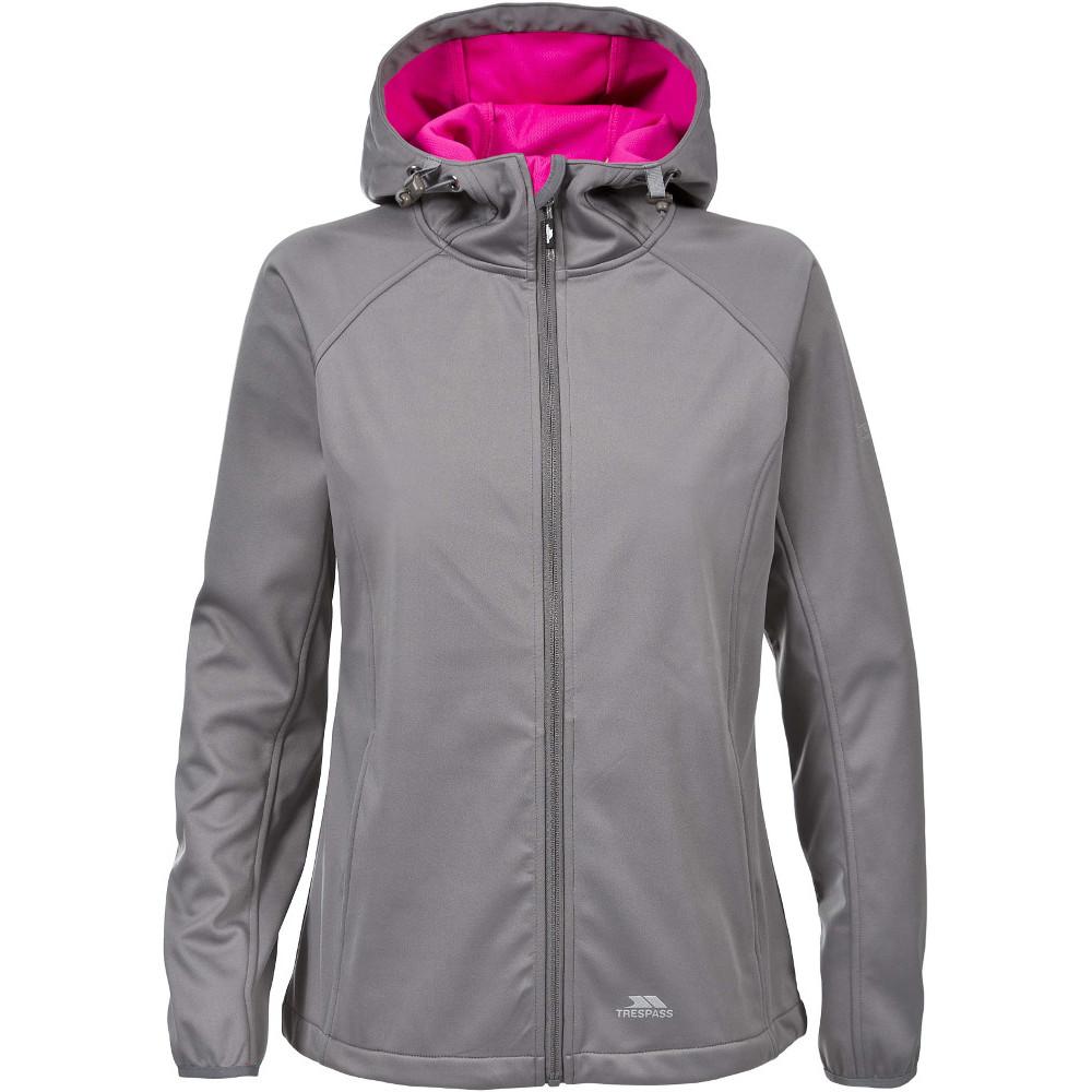 Trespass Womens/ladies Sisely Waterproof Breathable Softshell Jacket 12/m - Bust 36 (91.4cm)