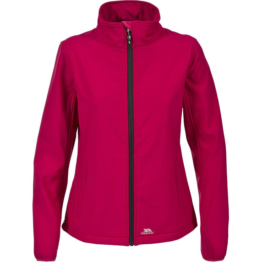 Trespass Womens/ladies Meena Warm Lightweight Stretch Softshell Jacket 10/s - Bust 34 (86cm)