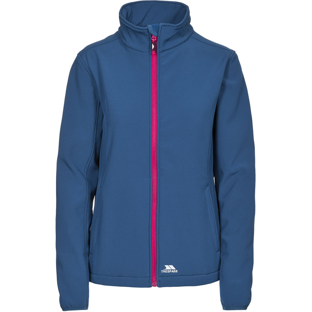 Trespass Womens/ladies Meena Warm Lightweight Stretch Softshell Jacket 6/xxs - Bust 30 (76cm)