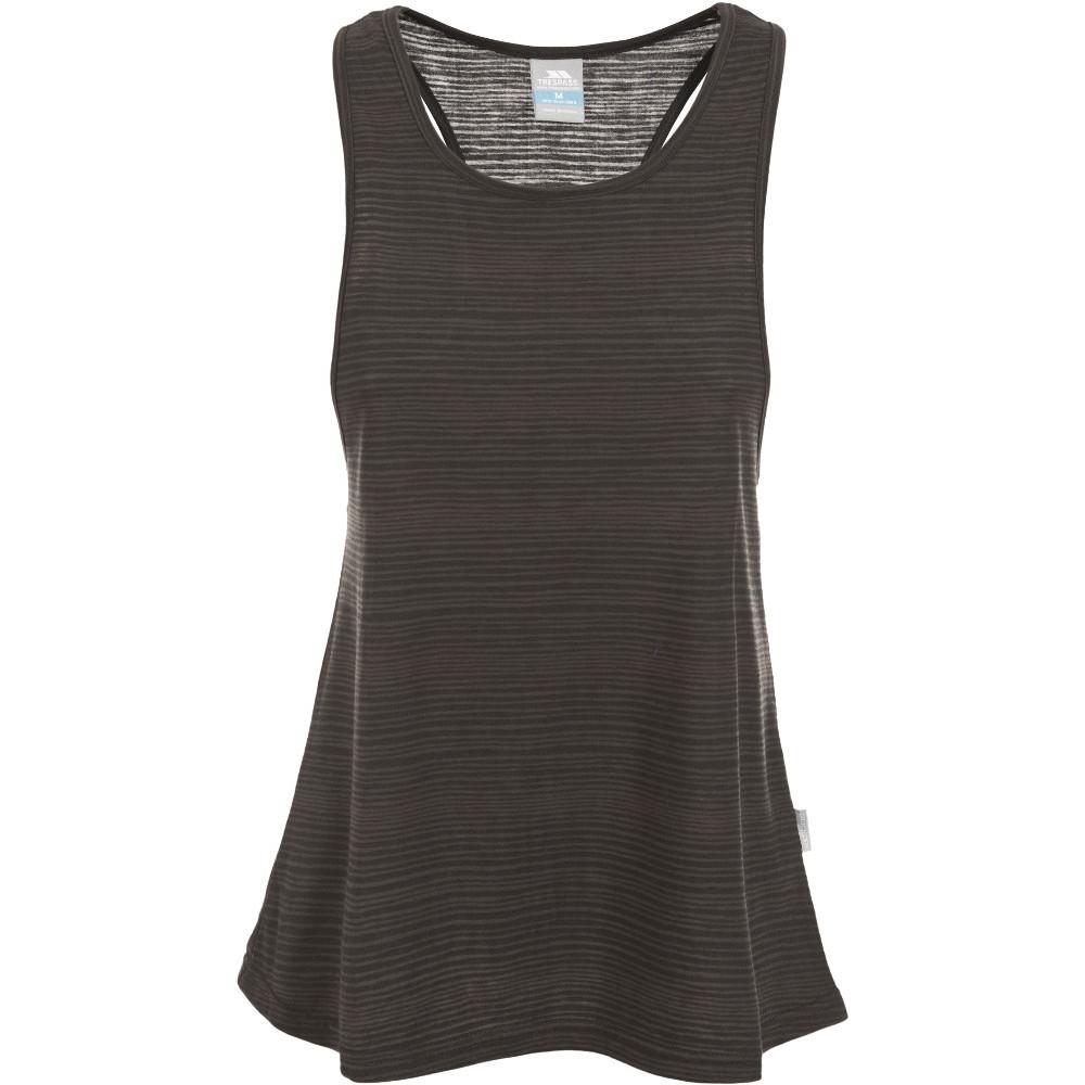 Trespass Womens/ladies Kaylee Striped Racer Back Active Vest Top 10/s - Bust 34 (86cm)