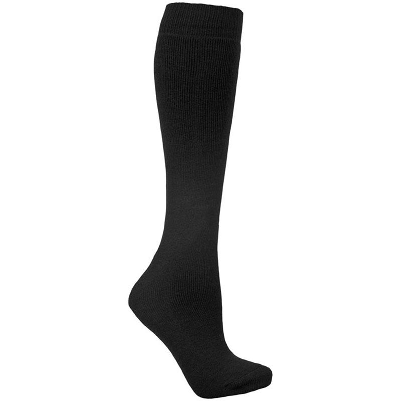 Product image of Trespass Tubular Unisex Luxury Thermal Ski Tube Socks Black