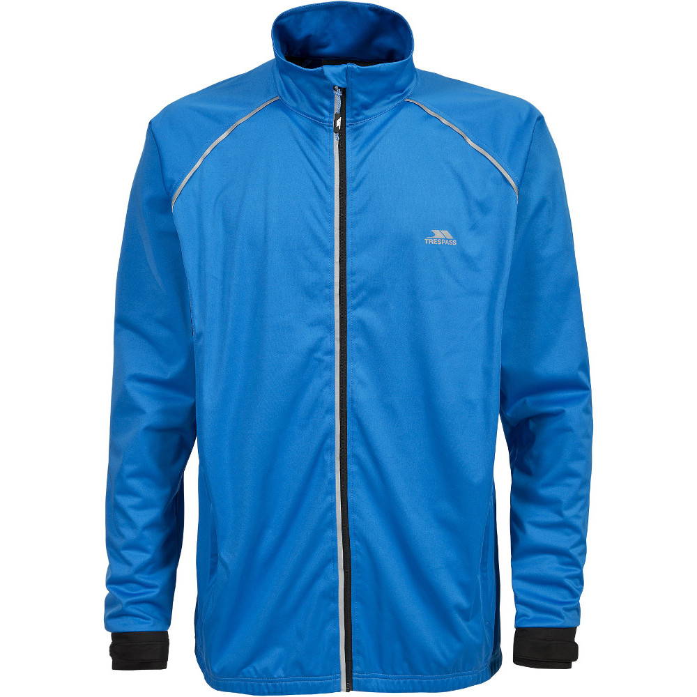 Trespass Mens Blocker Waterproof Windproof Lightweight Active Jacket Xxs - Chest 29-31 (77-82cm)