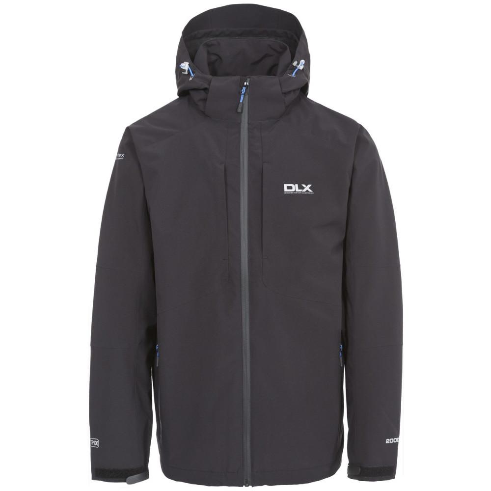 Trespass Mens Kumar Dlx Waterproof Breathable Technical Rain Jacket Xxs - Chest 29-31 (77-82cm)