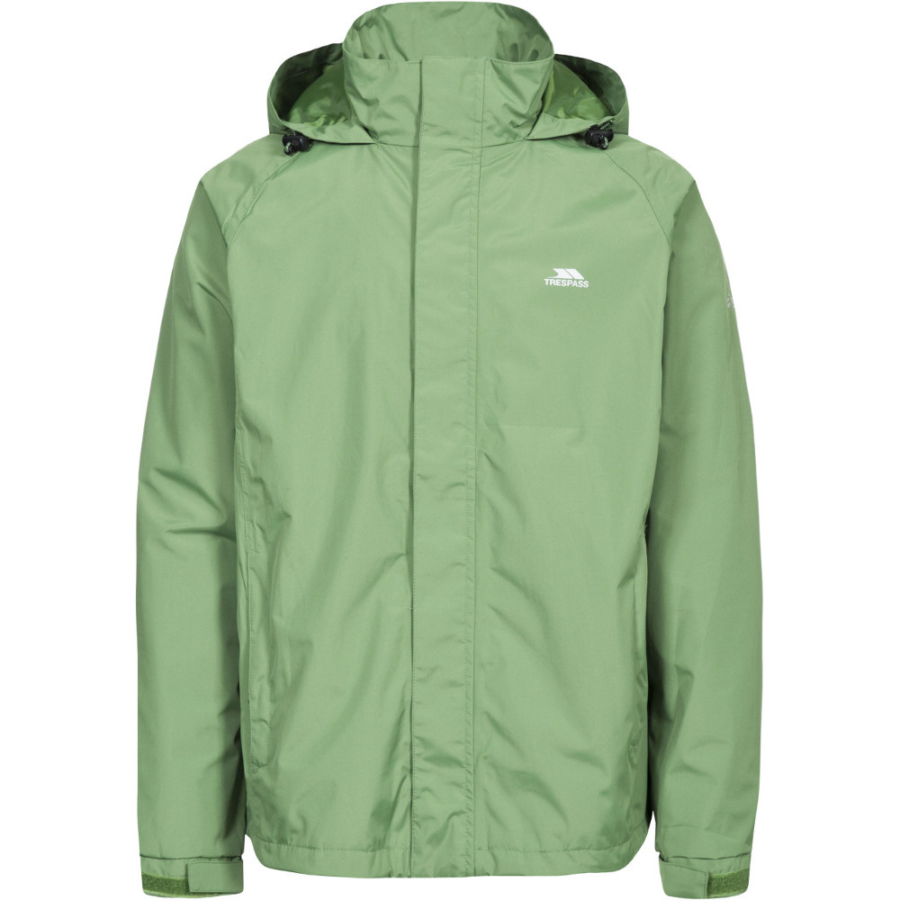 Trespass Mens Nabro Ii Waterproof Windproof Rain Shell Jacket S - Chest 35-37 (89-94cm)
