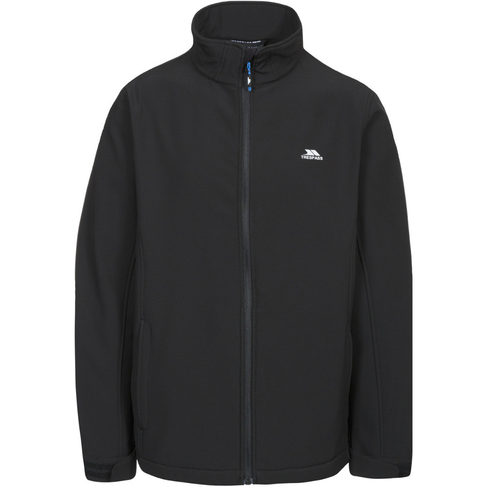 Trespass Mens Vander Woven Polyester Windproof Softshell Jacket Xxs - Chest 29-31 (77-82cm)