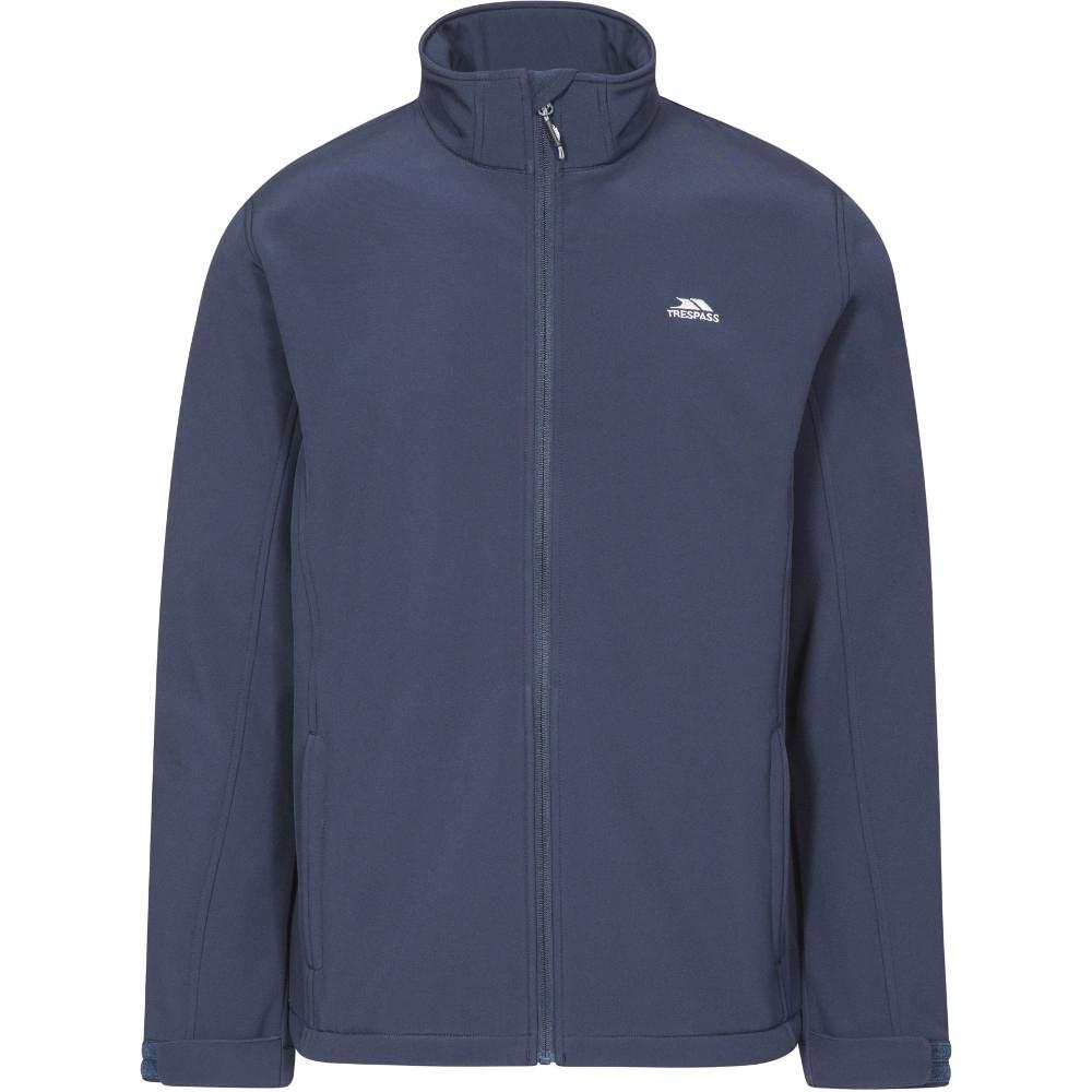 Trespass Mens Vander Woven Polyester Windproof Softshell Jacket Xl - Chest 44-46 (111.5-117cm)