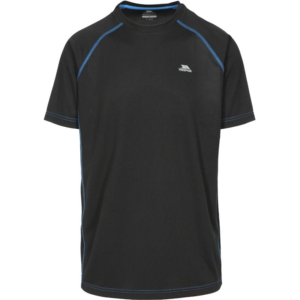 Trespass Mens Ethen Active Wicking Running Short Sleeve T Shirt L - Chest 41-43 (104-109cm)
