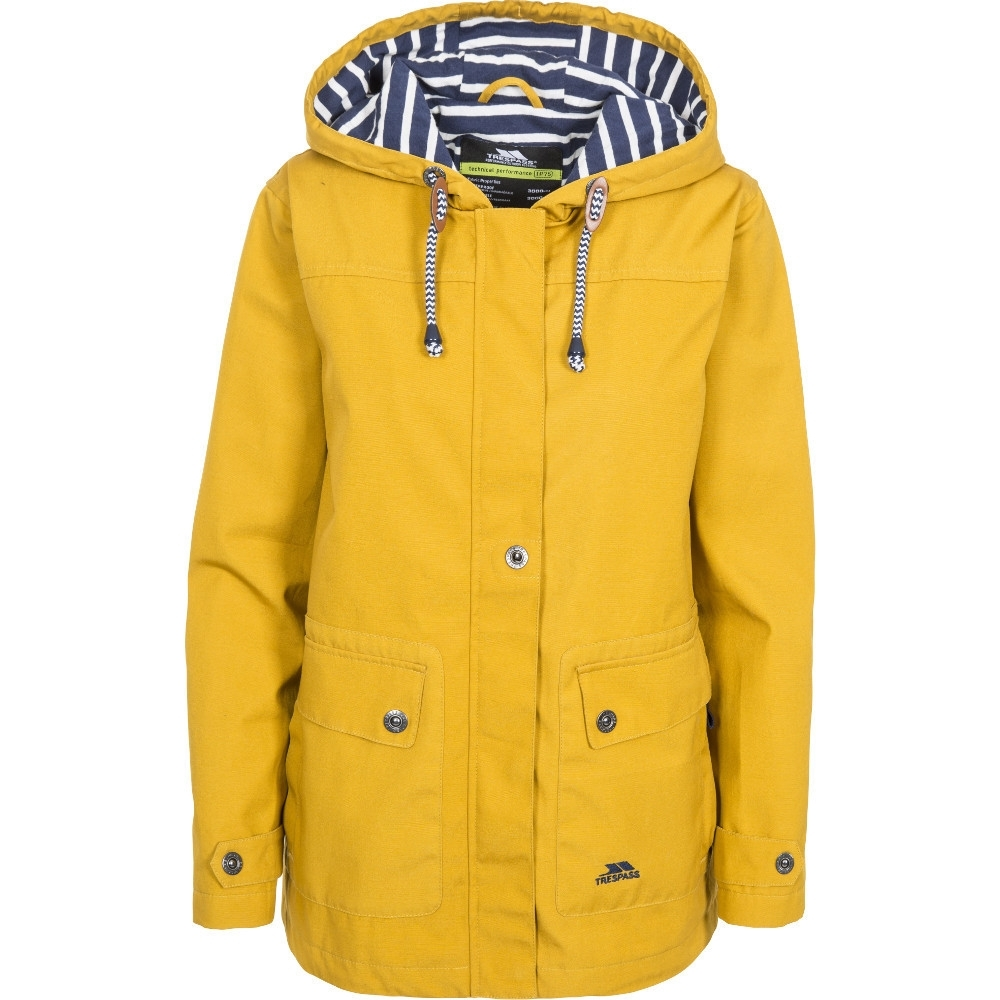 Trespass Womens/ladies Seawater Waterproof Breathable Windproof Jacket 14/l - Bust 38 (96.5cm)