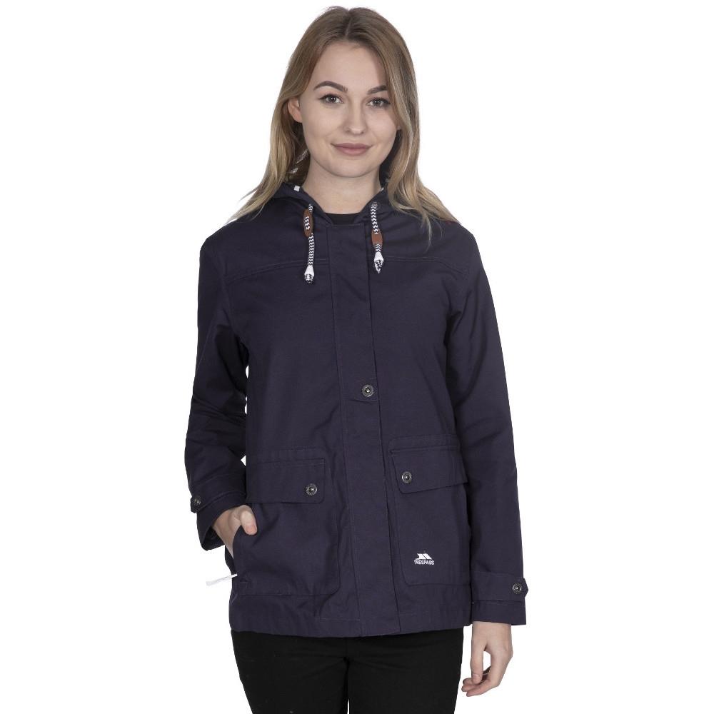Trespass Womens/ladies Seawater Waterproof Breathable Windproof Jacket 6/xxs - Bust 31 (78cm)