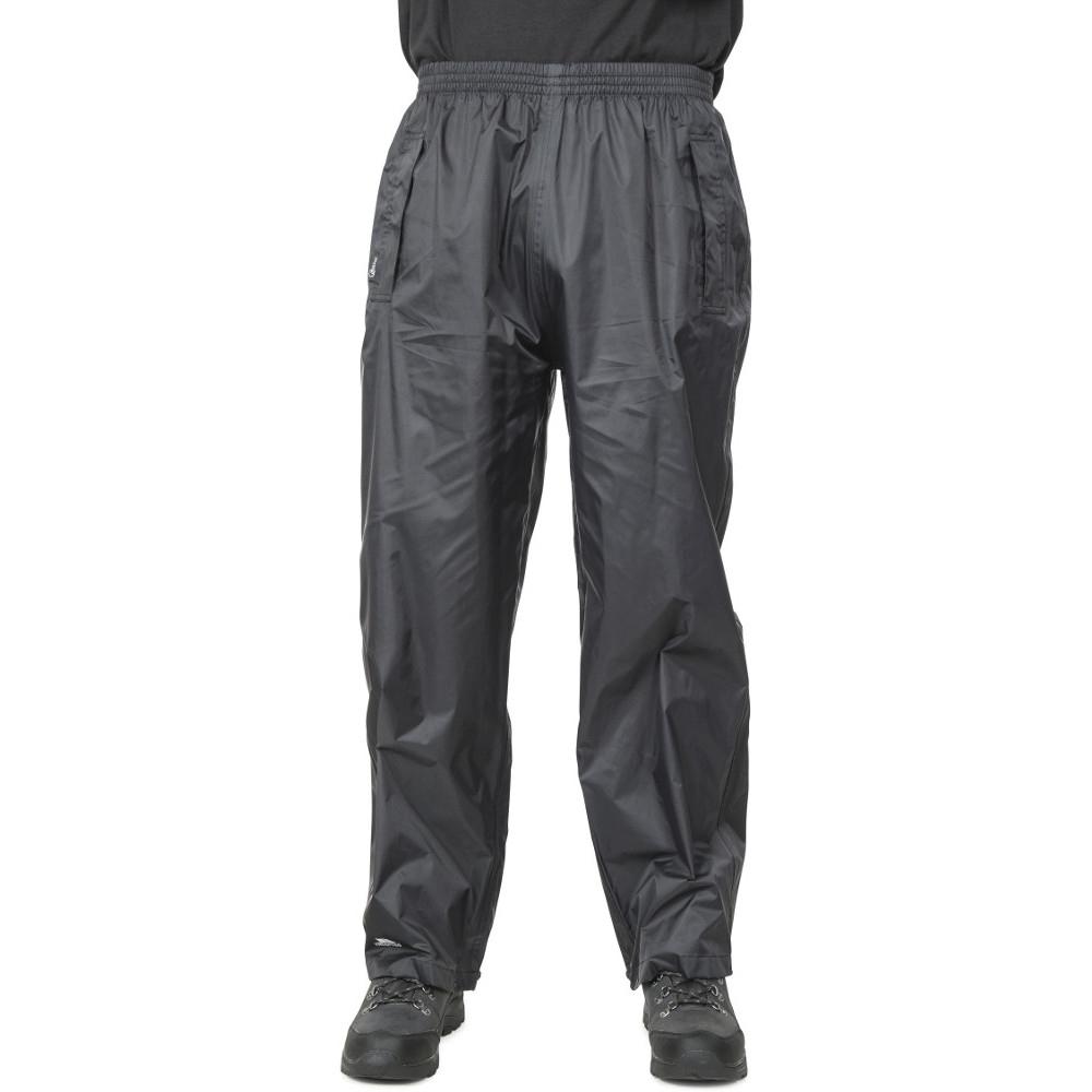 Trespass MensandWomens/ladies Packaway Qikpac Waterproof Trousers Xxs - Waist 26 (66cm)