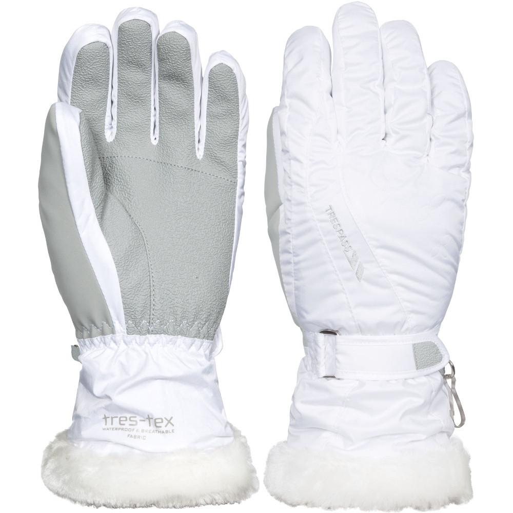 Trespass Womens/ladies Yani Waterproof Breathable Light Padded Gloves Extra Large