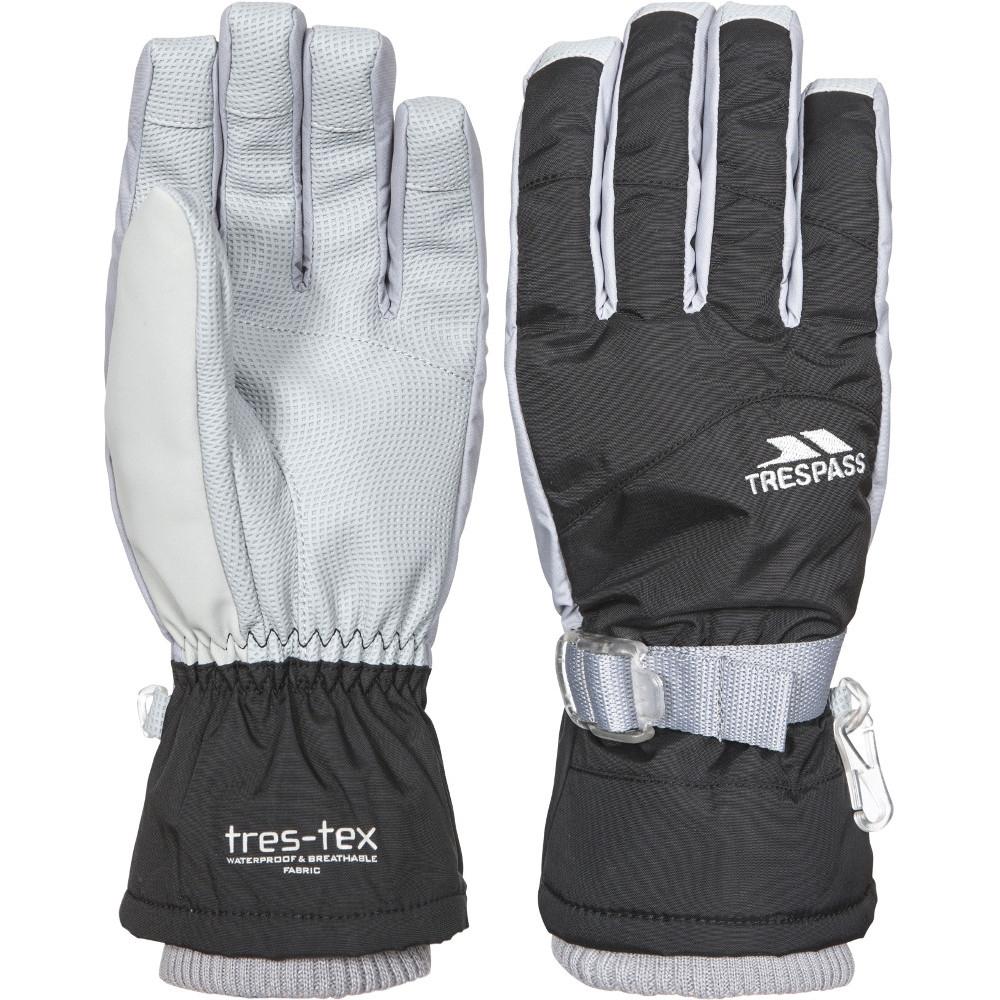 Trespass Womens/ladies Viza Ii Waterproof Breathable Padded Gloves Large