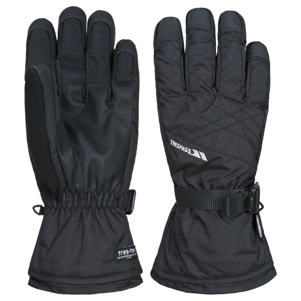 Trespass Mens Reunited Ii Waterproof Breathable Performance Gloves Small