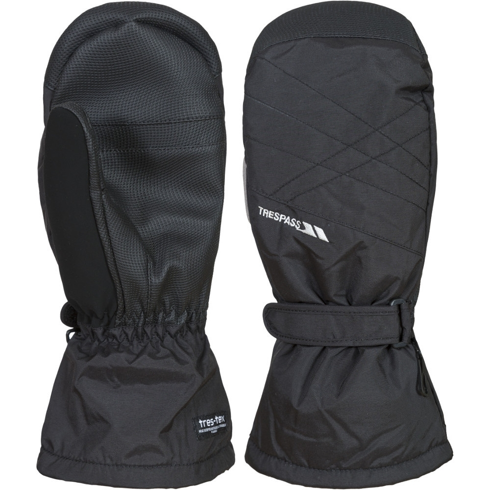 Trespass Mens Ikeda Ii Waterproof Breathable Padded Shell Mittens Extra Large