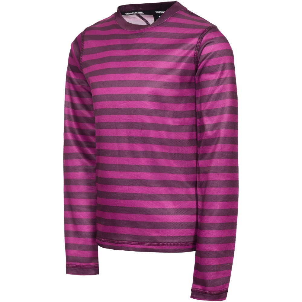 Trespass Boys Oaf Long Sleeve Wicking Quick Dry Base Layer Top 11-12 Years - Height 59  Chest 31 (79cm)