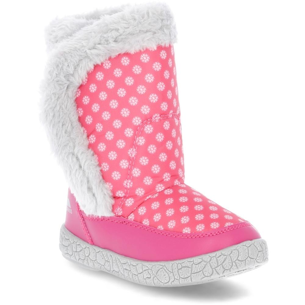 Trespass Girls Babies/toddlers Tigan Fleece Lined Winter Snow Boot Uk Size 8 (eu 26  Us 9)