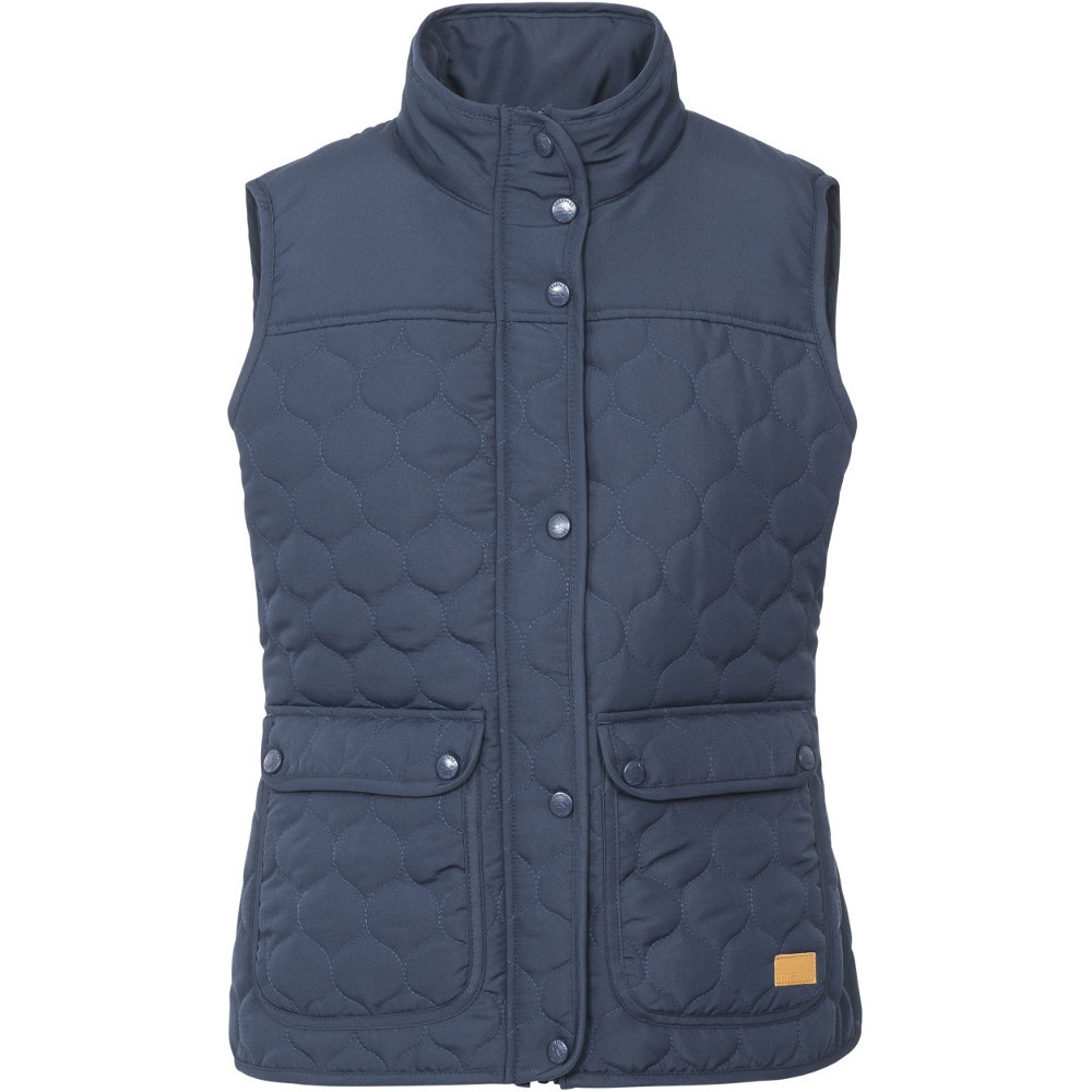 Trespass Womens/ladies Jen Polyester Quilted Stud Fastening Jacket Xxs - Bust 30 (76cm)