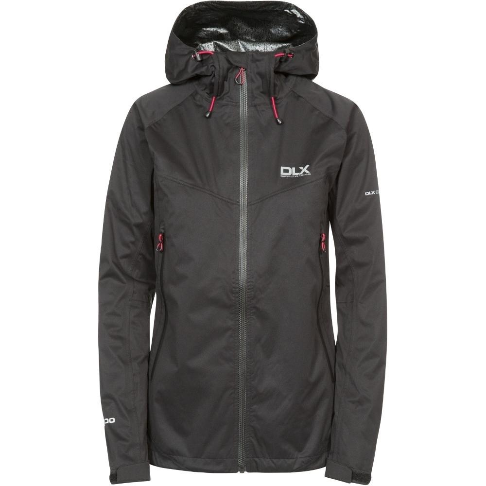 Trespass Womens/ladies Erika Ii Waterproof Breathable Dlx Jacket Xs - Bust 32 (81cm)