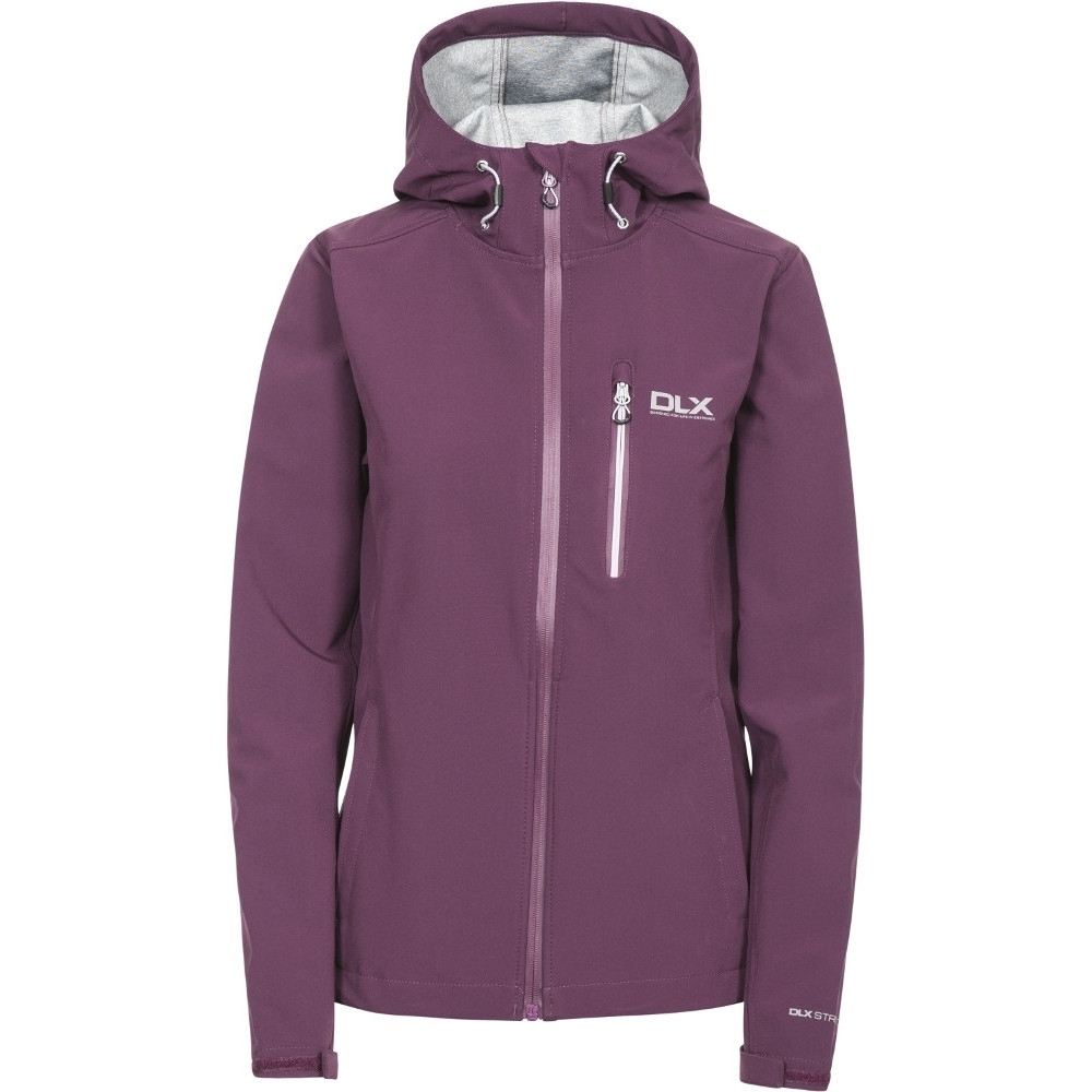 Trespass Womens/ladies Edin Waterproof Breathable Softshell Jacket Xxs - Bust 30 (76cm)