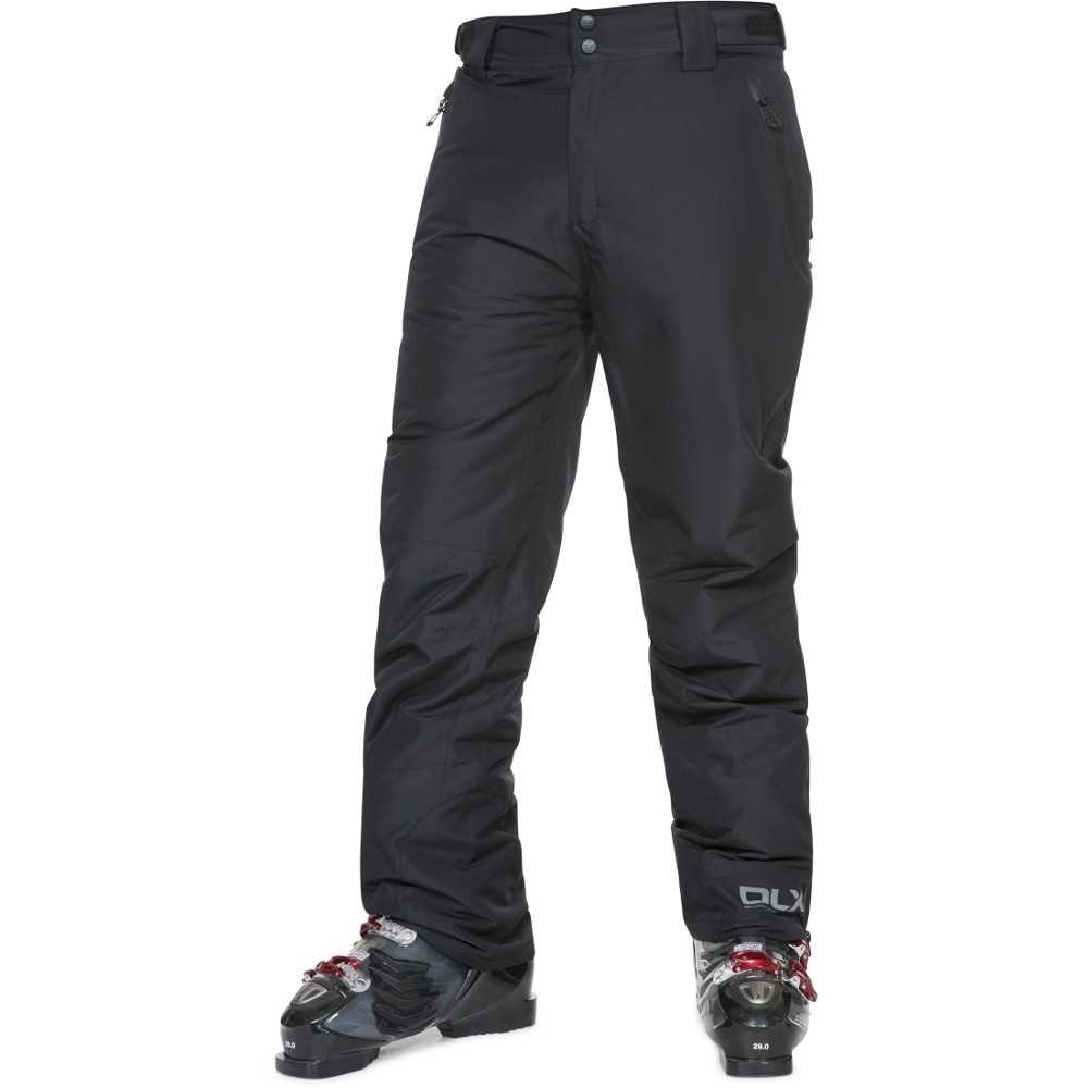 Trespass Mens Coffman Waterproof Breathable Dlx Ski Trousers Pants Xxl - Waist 40 (101.5cm)  Inside Leg 32 (81cm)