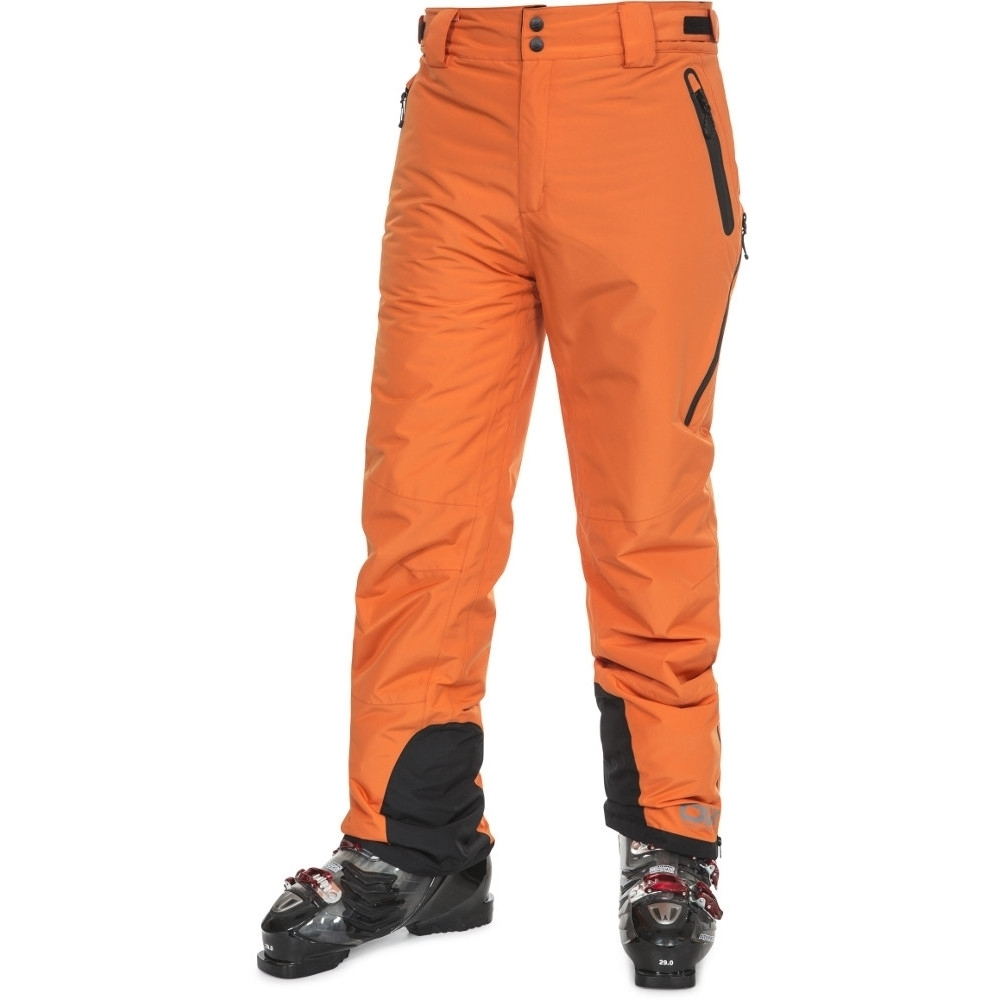 Trespass Mens Coffman Waterproof Breathable Dlx Ski Trousers Pants Xxs - Waist 26-28 (66-71cm)