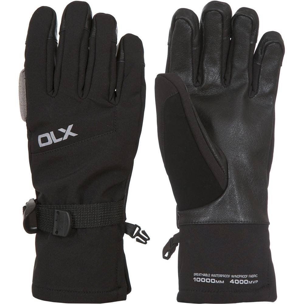 Trespass Womens/ladies Misaki Ii Waterproof Dlx Softshell Gloves Extra Large
