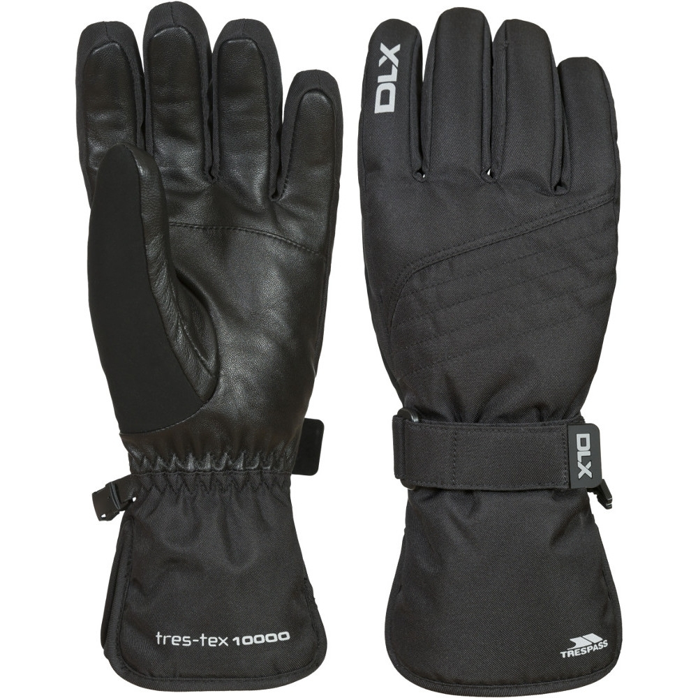 Trespass MensandWomens/ladies Rutger Waterproof Dlx Snowsport Gloves Small