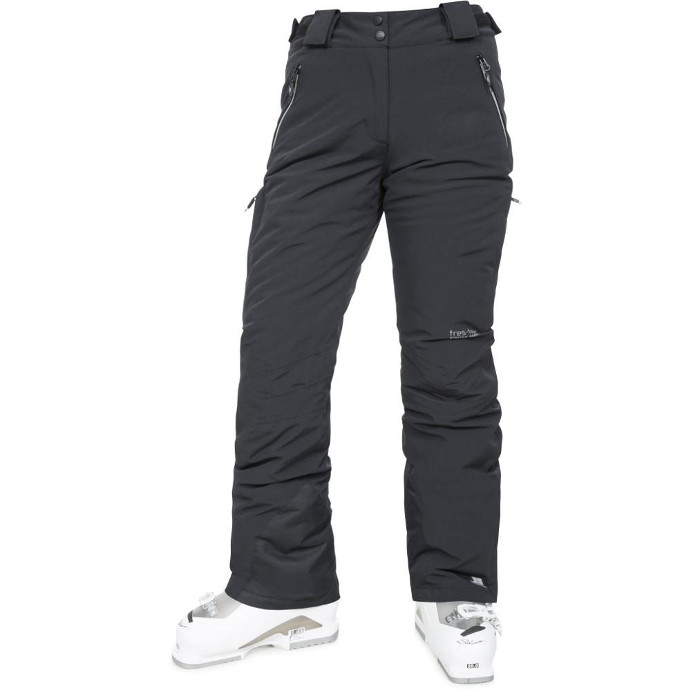 Trespass Womens/ladies Galaya Waterproof Breathable Ski Trousers Pants S - Waist 28 (71cm)  Inside Leg 30 (76cm)