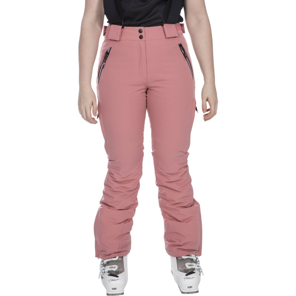 Trespass Womens/ladies Galaya Waterproof Breathable Ski Trousers Pants L- Uk 14  Waist 32 (81cm)