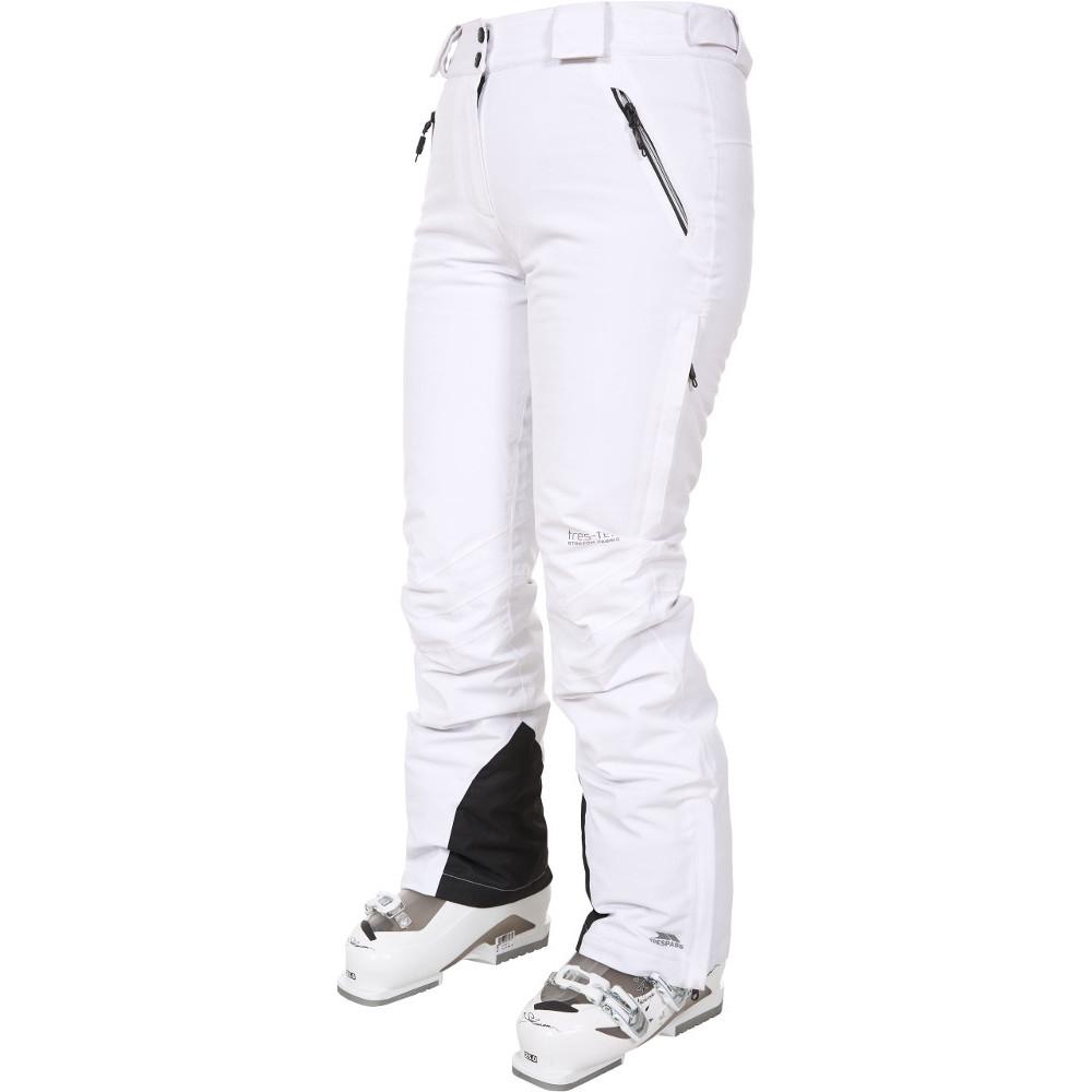 Trespass Womens/ladies Galaya Waterproof Breathable Ski Trousers Pants L - Waist 32 (81cm)  Inside Leg 30.5 (77.5cm)