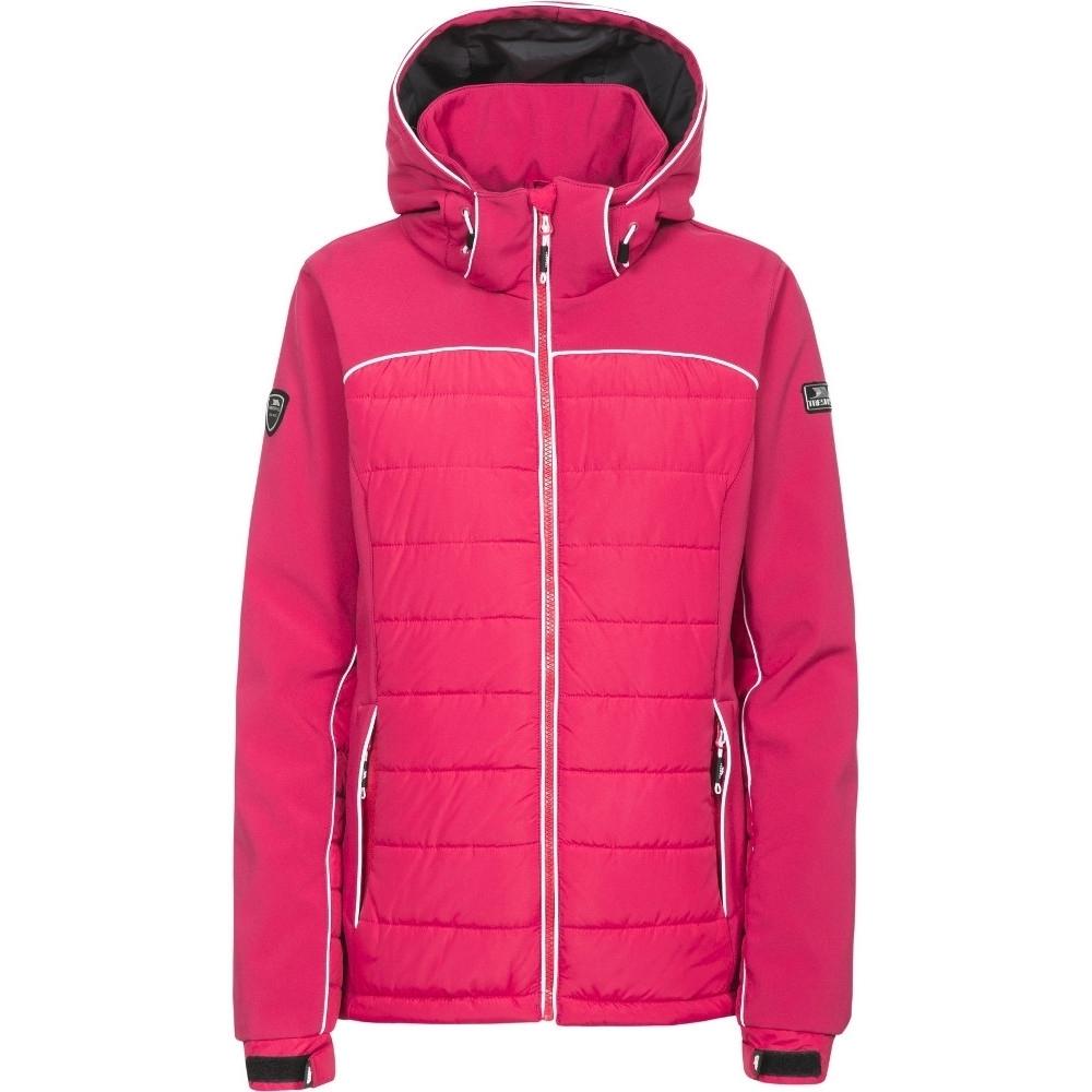 Trespass Womens/ladies Evvy Padded Windproof Softshell Ski Jacket Coat Xs - Bust 32 (81cm)