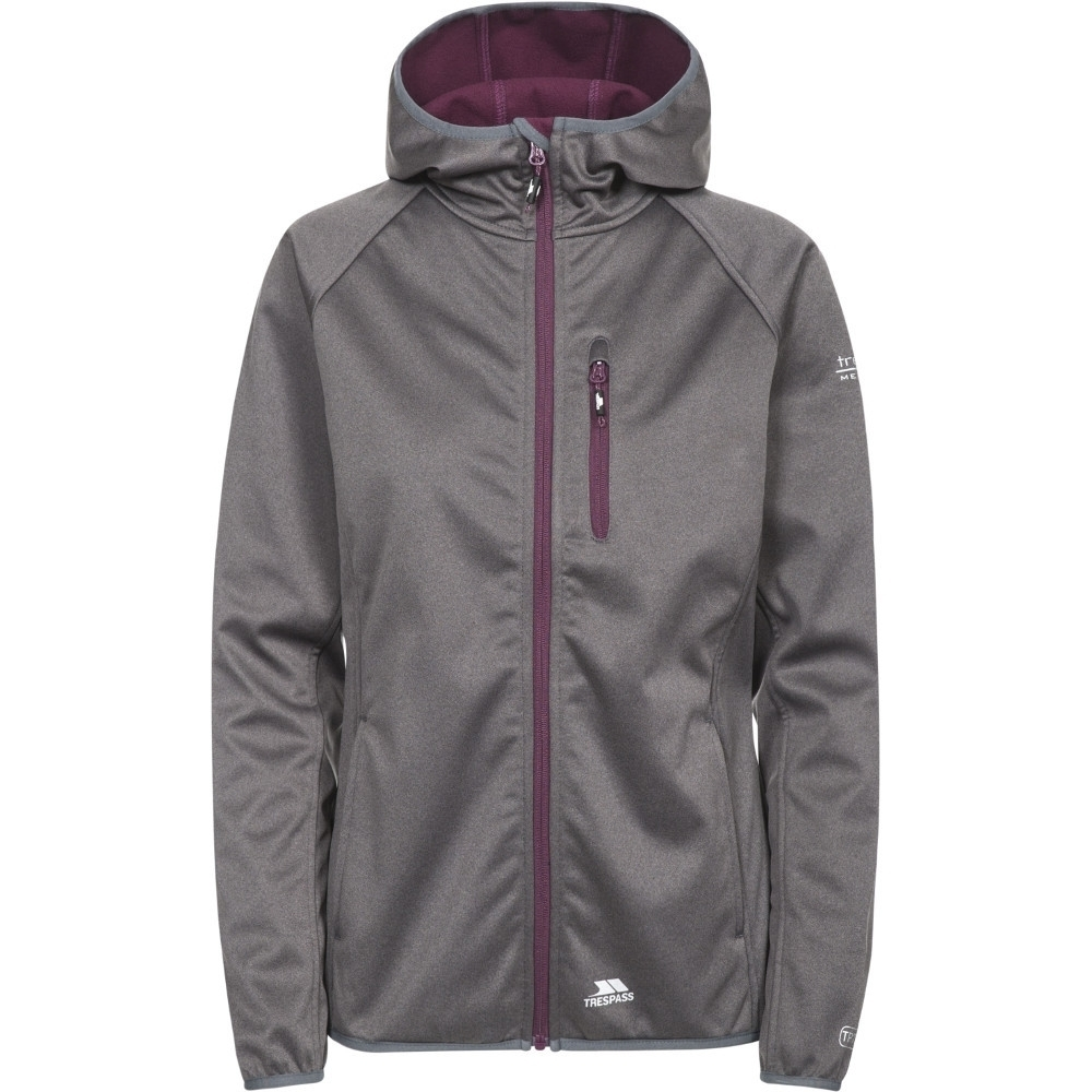 Trespass Womens/ladies Shelly Waterproof Breathable Softshell Jacket Xs - Bust 32 (81cm)