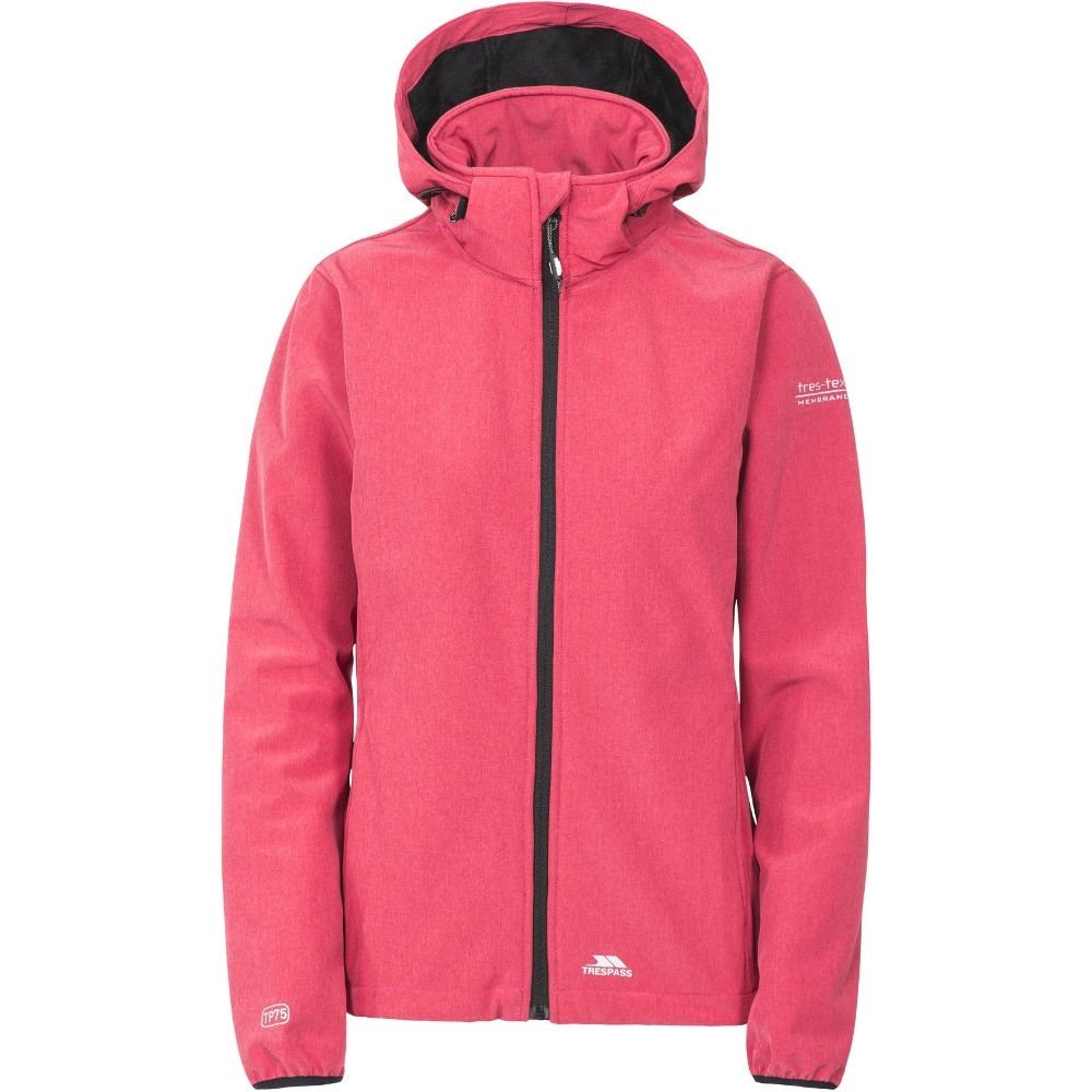 Trespass Womens/ladies Ramona Waterproof Breathable Softshell Jacket M - Bust 36 (91.4cm)